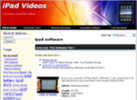 Thumbnail IPad video Store