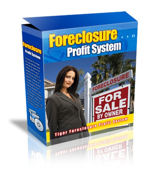 Product picture Foreclosure Profits System