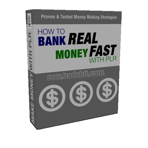 Product picture Bank Real MoneyFast /PLR