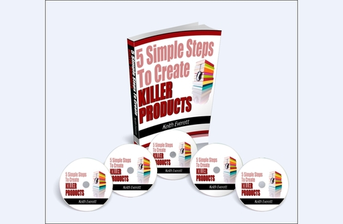 Product picture 5 Simple Steps To Killer Products