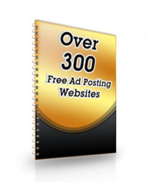Product picture 300 plus Free Ad Websites List