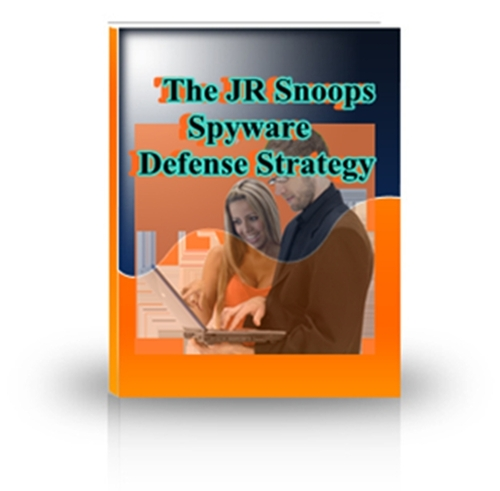 Product picture The JR Snoops Spyware Defense Strategy